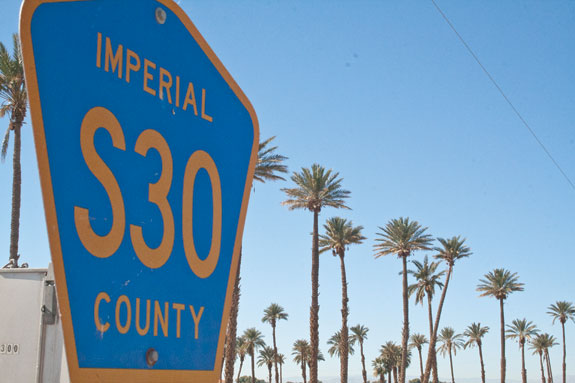 Imperial S30 County sign