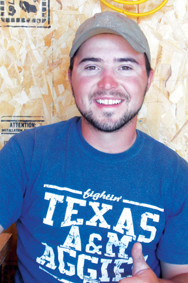 Paul Wesley Quin, 23, of Pilot Point, Texas