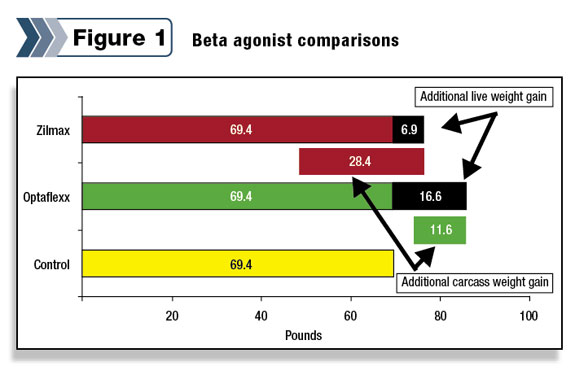 Figure 1: Beta agonist comparisons