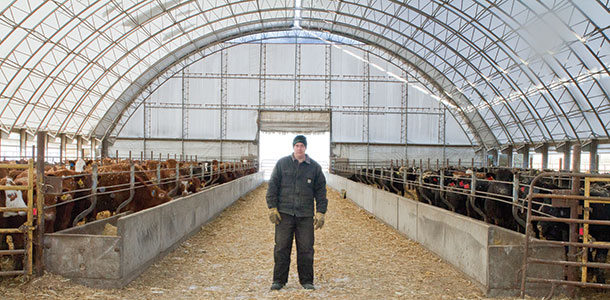 Midwest Feeding Operations Expand Revamp With Hoop Barns
