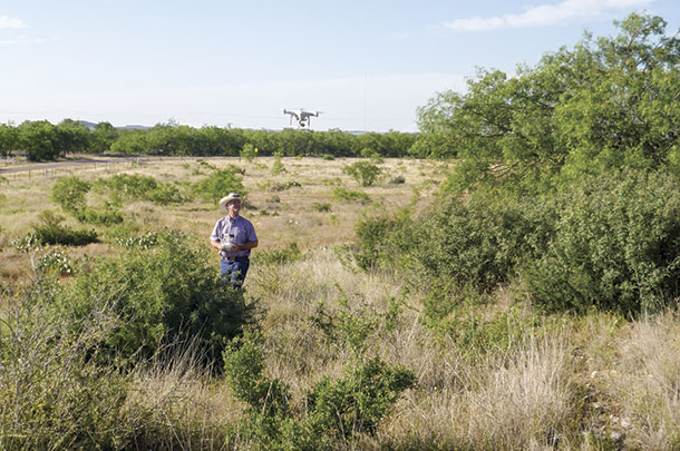 Cow-calf producers are using drone technology