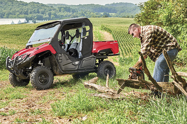 Producers using side-by-sides find then convenient and safer than ATVs