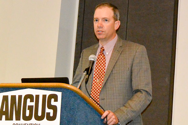 Paul Dykstra at the Angus Convention