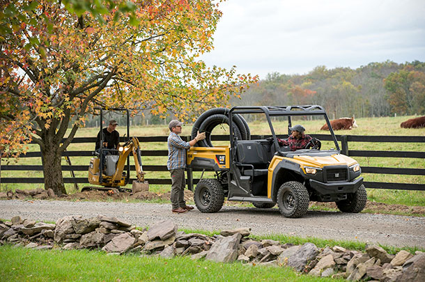 Caterpillar UTV CUV82