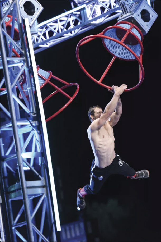 Lance Pekus on American Ninja Warrior