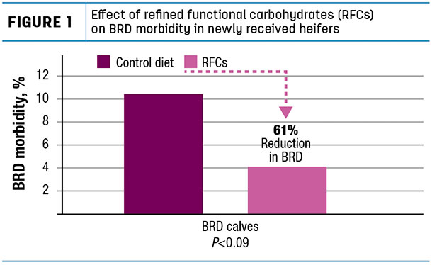 Effect of refined functional carbohydrates