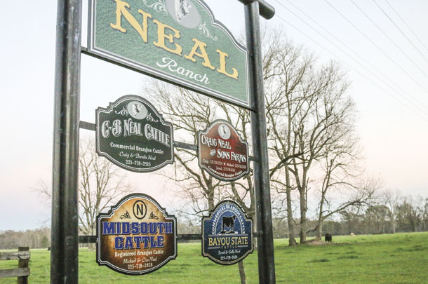 Neal Ranch sign